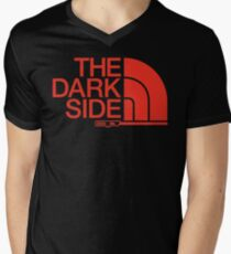 Come to this Side Mens V-Neck T-Shirt