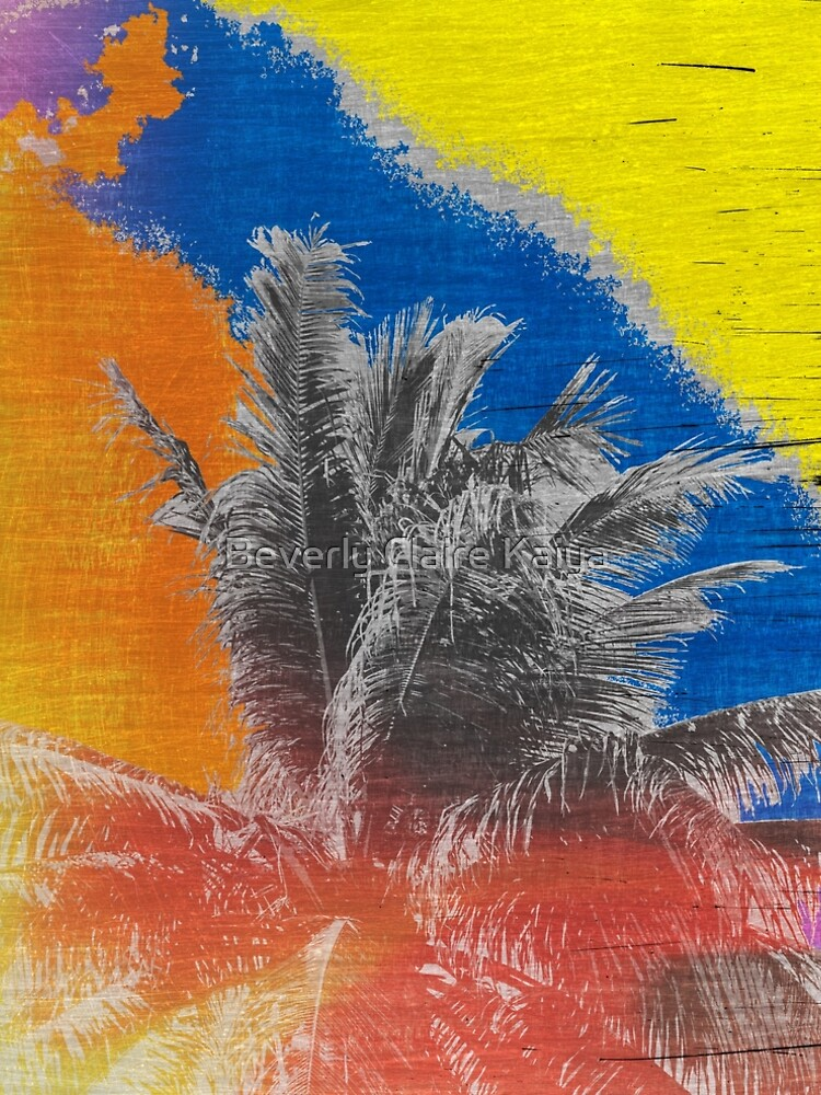 Coconut Tree Pop Art Retro Tropical Vintage Palm by beverlyclaire