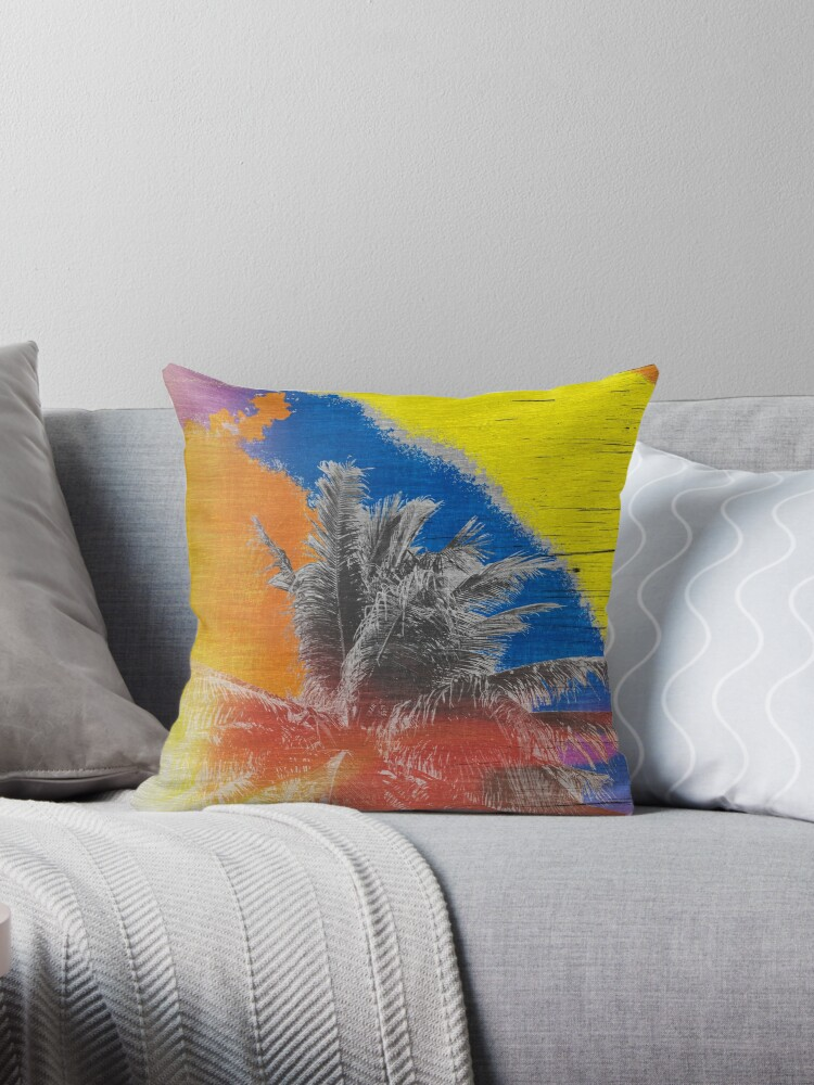 Coconut Tree Pop Art Retro Tropical Vintage Palm by Beverly Claire Kaiya