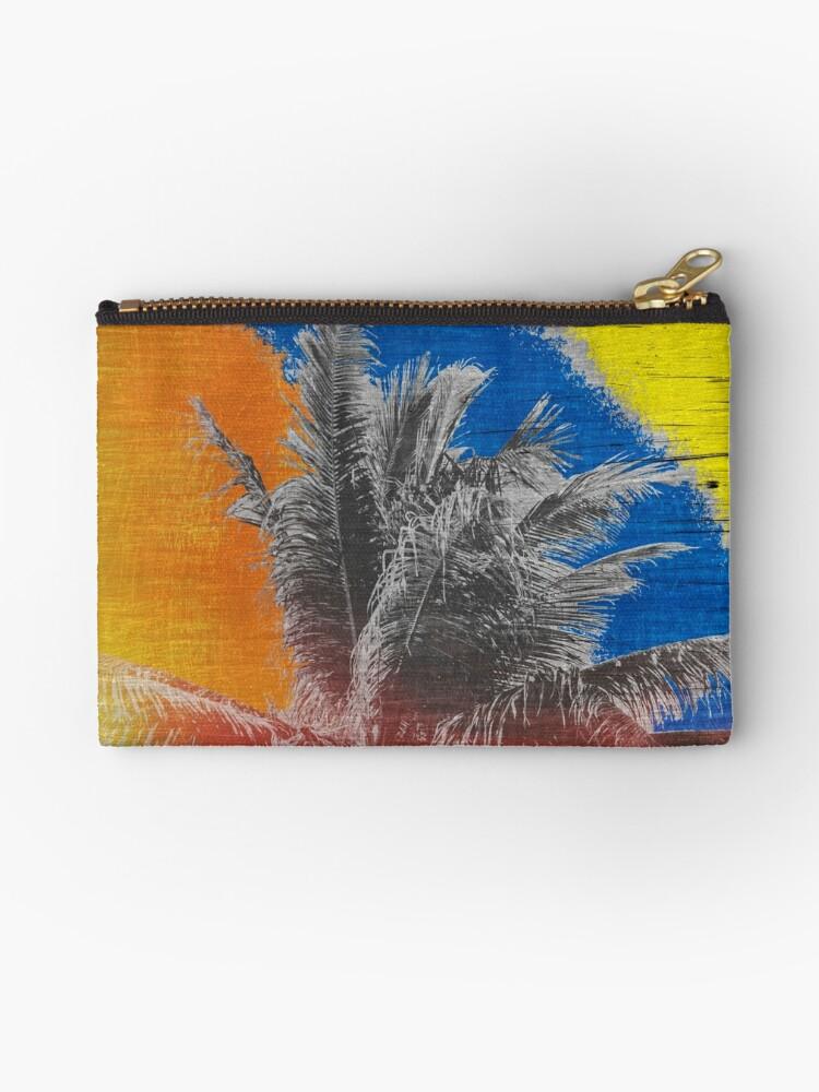 Coconut Tree Pop Art Retro Tropical Vintage Palm by Beverly Claire Kaiya