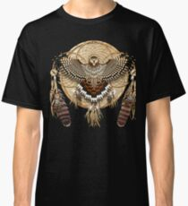 Red-Tail Hawk Dreamcatcher Mandala Classic T-Shirt