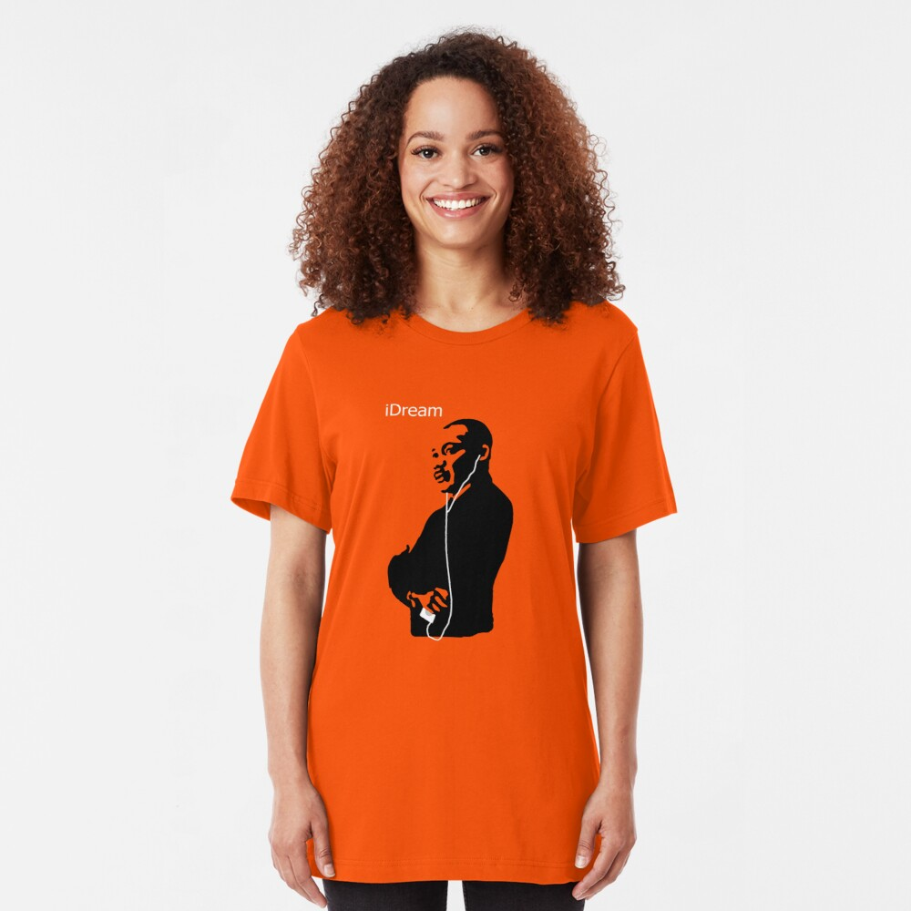 iDream - Martin Luther King Slim Fit T-Shirt