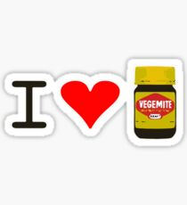 I Love Vegemite Sticker