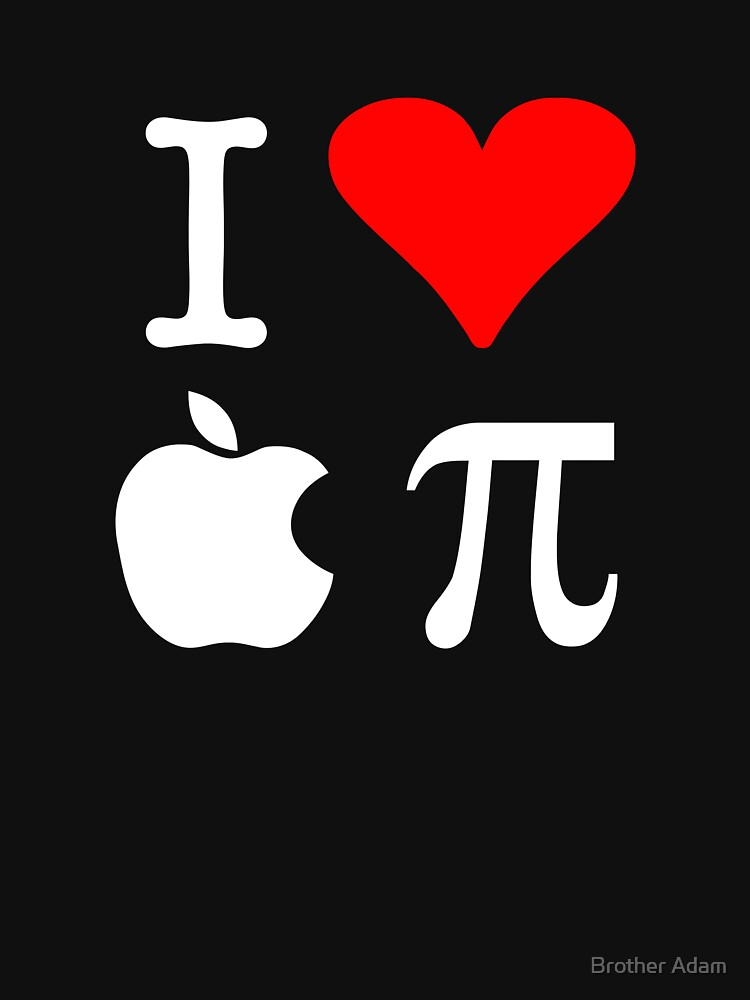 I Love Apple Pi | Women's T-Shirt