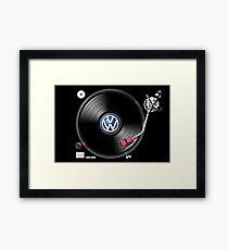 VW Tuning Framed Print