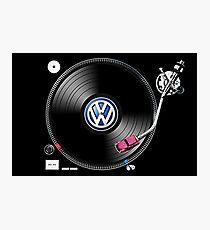 VW Tuning Photographic Print