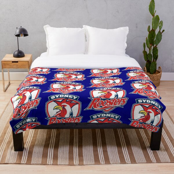 Sydney Roosters Throw Blanket