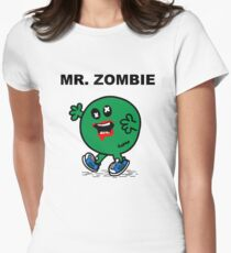 Mr Zombie Women's Fitted T-Shirt