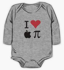 I Love Apple Pie - Alternative for light t-shirts One Piece - Long Sleeve