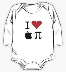 I Love Apple Pie - Alternative for light t-shirts One Piece - Long Sleeve