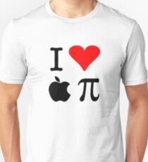 I Love Apple Pie - Alternative for light t-shirts T-Shirt