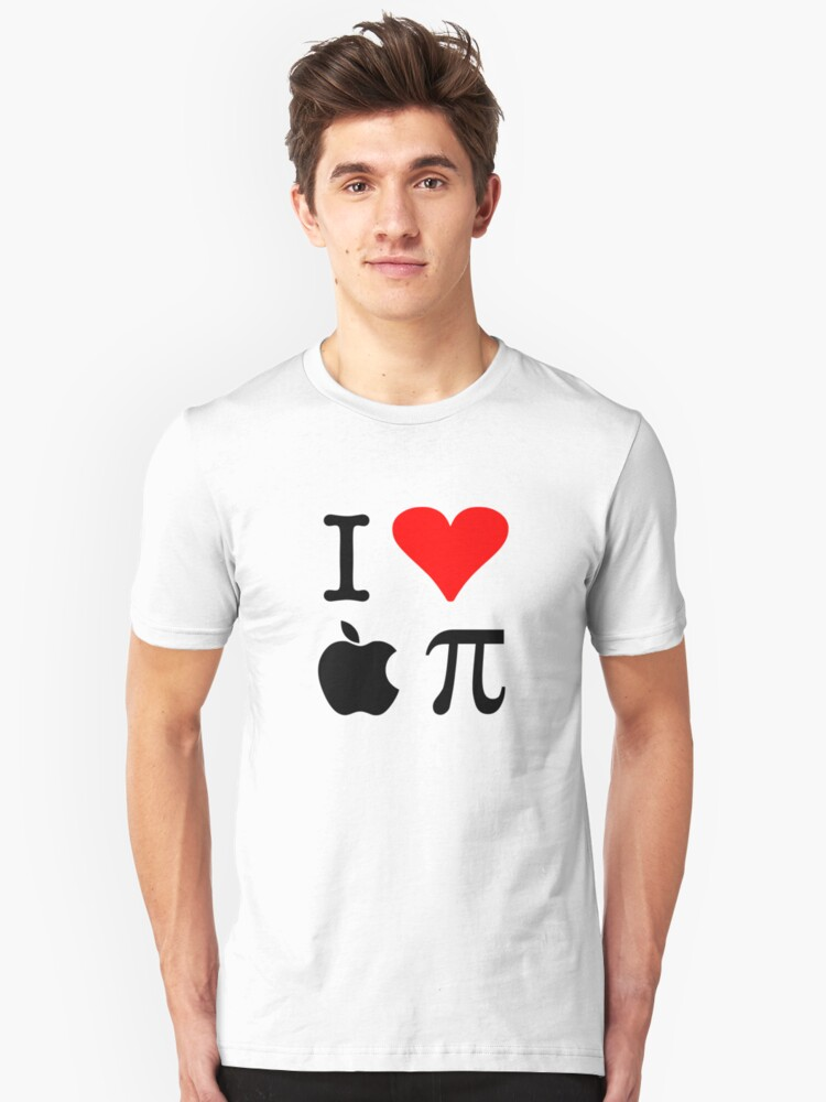 I Love Apple Pie - Alternative for light t-shirts Unisex T-Shirt Front