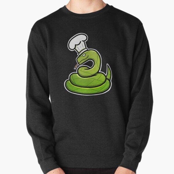 Snake Chef Pullover Sweatshirt
