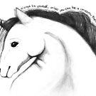 Always be a unicorn by Rhana Griffin