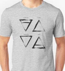 Elements Symbols - Black Edition T-Shirt