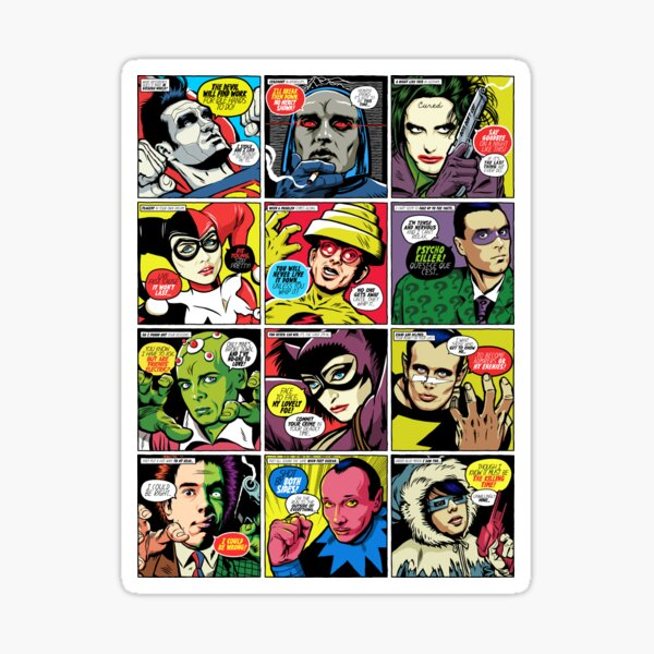 Post-Punk Baddies Sticker