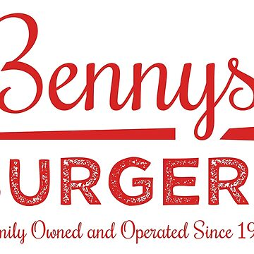 Benny's Burgers by LisaDylanArt