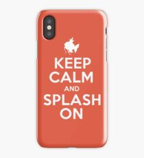 Pokemon - Keep Calm and Splash On - Magikarp Design iPhone Case