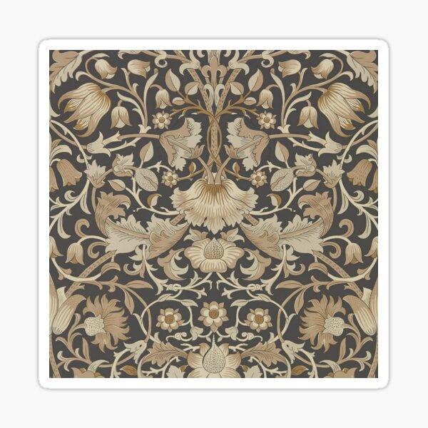 William Morris fabric design Sticker