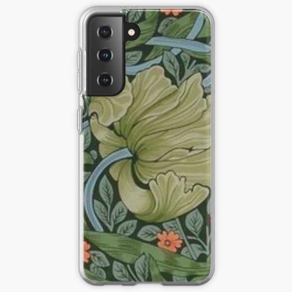 William Morris - fabric design Samsung Galaxy Soft Case