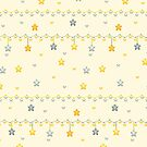 Hanging Stars by Nina Buie