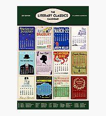 Literary Classics - 2017 Calendar Photographic Print