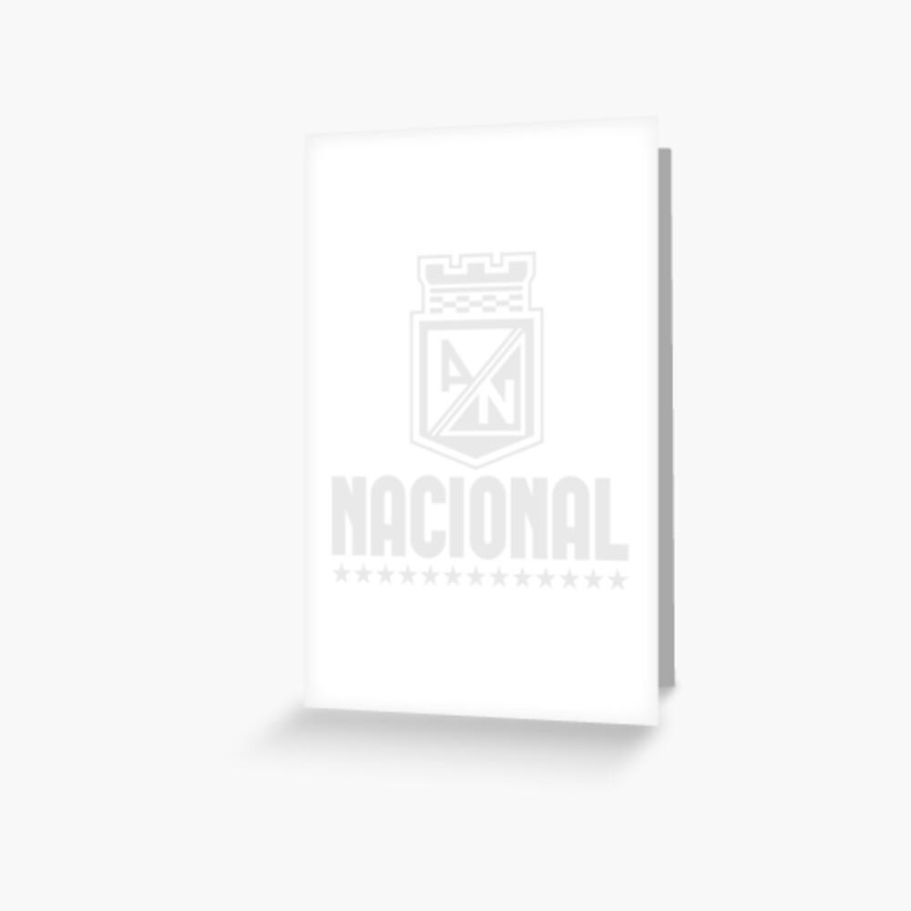 Atlético Nacional Kolumbien Medellin Futbol Fußball - Camiseta Postobon Grußkarte