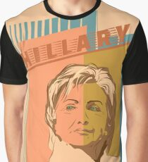 US Senator Hillary Rodham Clinton Graphic T-Shirt