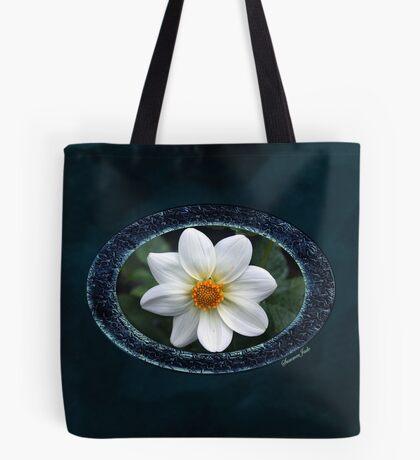 She Wore Blue Velvet ~ Dahlia Tote Bag