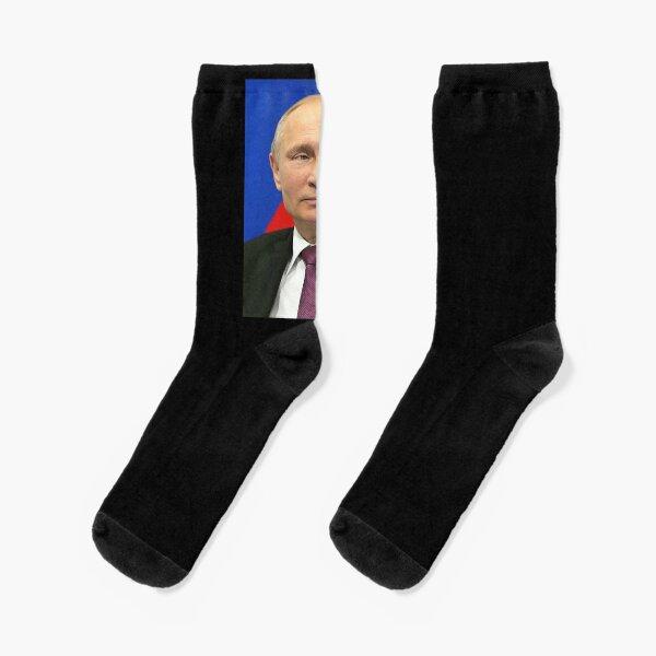 PUTIN. Vladimir Vladimirovich Putin. Russian Leader. Socks