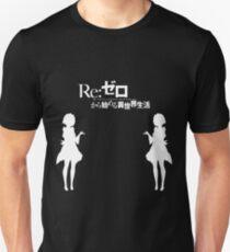 Re: Zero kara Hajimeru Isekai Seikatsu (White Edition) Unisex T-Shirt
