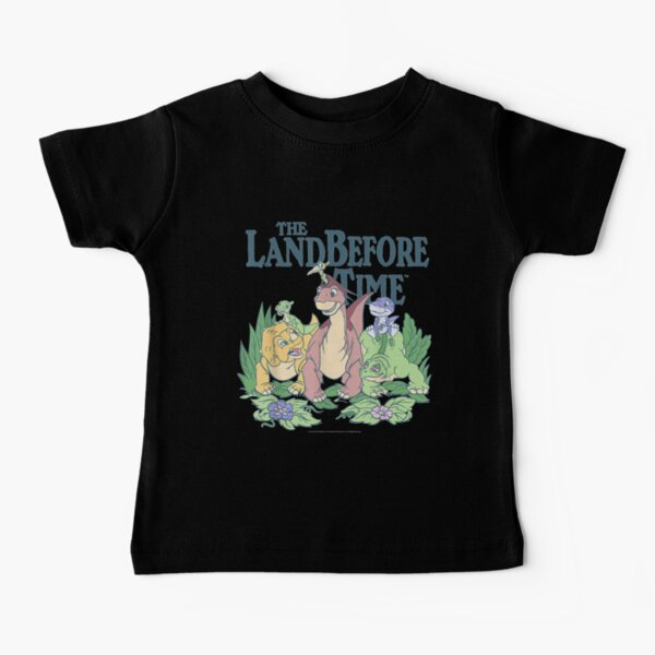 Land Before Time Pastel Dinosaur Friends Baby T-Shirt