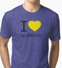 I ♥ ALBERTO Tri-blend T-Shirt