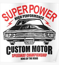 Super Power High Performance Poster