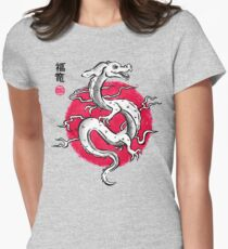 Ink Fukuryu Women's Fitted T-Shirt