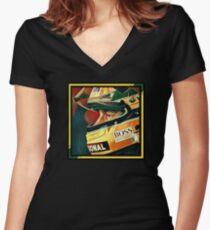 Senna Women's Fitted V-Neck T-Shirt