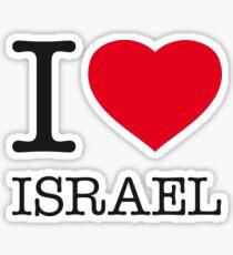 I ♥ ISRAEL Sticker