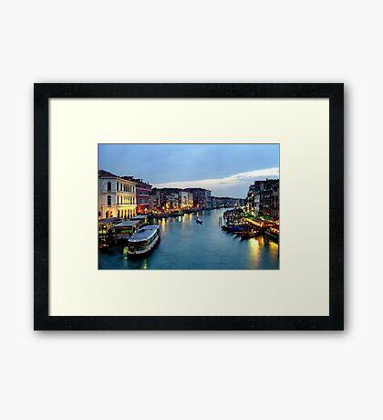 Venice Evening 2 Framed Print
