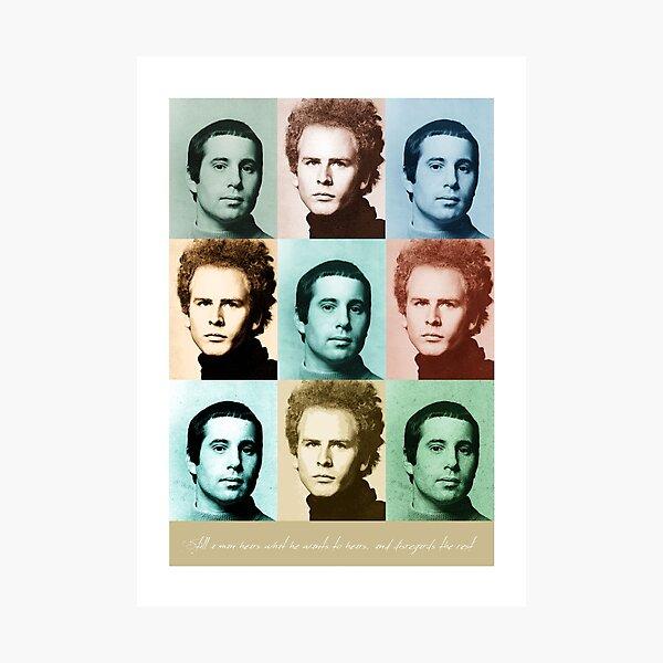 Simon & Garfunkel - Music Heroes Series Photographic Print
