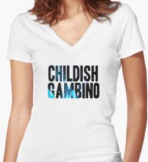 Childish Women's Fitted V-Neck T-Shirt