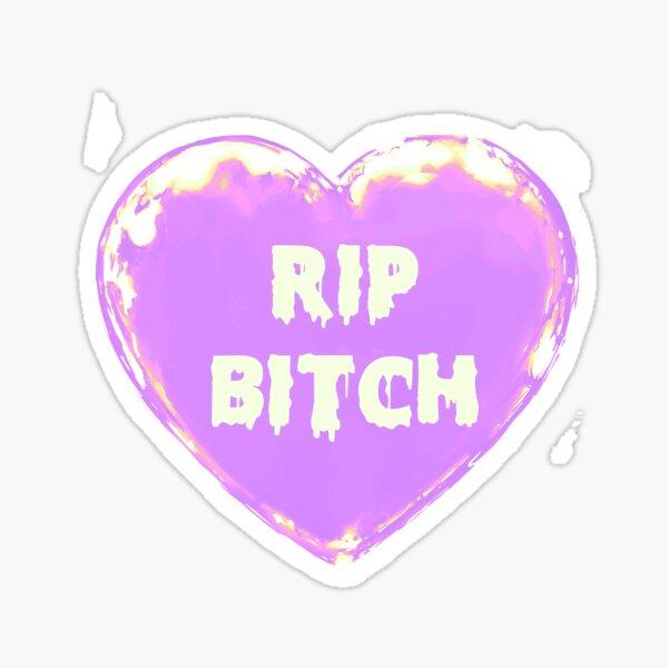 Pastel Goth Undead Kitty ~ Ice Lemon edit ~ the bxtch variant Sticker
