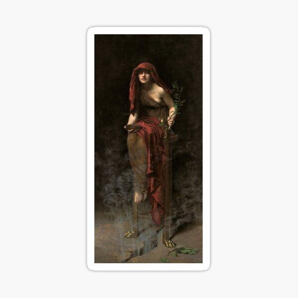 Priestess of Delphi - John Collier - 1891 Sticker