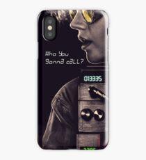 Who you gonna call? Holtzmann iPhone Case/Skin