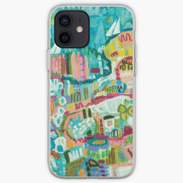 Abstract Marina iPhone Soft Case