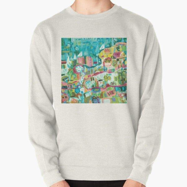 Abstract Marina Pullover Sweatshirt