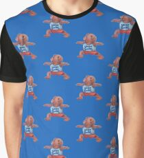Warrior Yoga Bear  Graphic T-Shirt