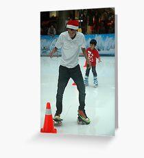 inline skate Greeting Card