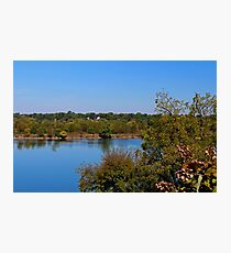 Maumee River from Hood Park Photographic Print