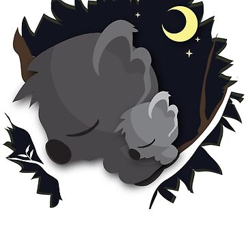 Sleeping Koalas by Yincinerate