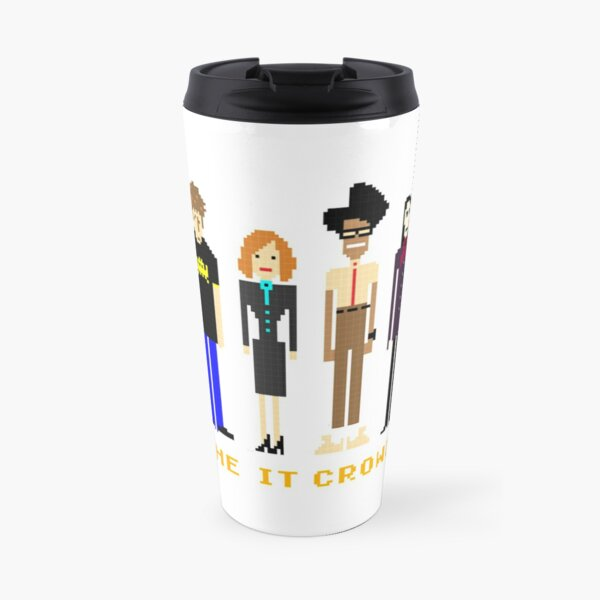 The IT Crowd  Pixels Travel Mug